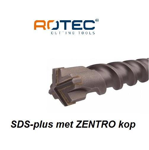 SDS-plus ZENTRO 4-snijder