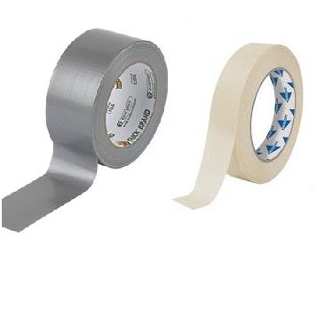 Tape en afdekfolies