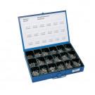 Assortimentskoffer FS Spaanplaatschroeven verzonken kop RVS 3x16 - 5x60
