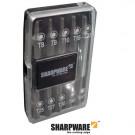 Bitbox 10-delig 25mm TX8-9-10-15-20-25-27-30-40 en magnetische bithouder