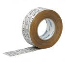 Luchtdichte tape BEFIX 60 mm x 40m wit
