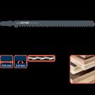 Decoupeerzaag ROTEC DC340 hout/kunststof 126mm, 5stuks