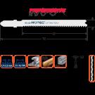 Decoupeerzaag ROTEC DC640 metaal 2-4mm 67mm, 5stuks