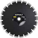 Diamantzaagblad ASFALT AST 350x25,4mm segment 11mm, inclusief pasring