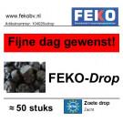 Zoete drop FEKO-DROP zacht +- 50stuks