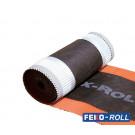 Ondervorst FEKO-Roll PP-doek Rood 360mm, 20meter