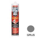 High tack SOUDAL FIX-ALL krachtige lijmkit 290ml grijs, 12stuks