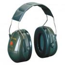Gehoorkap 3M PELTOR opt II H520A met hoofdband groen
