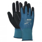 Handschoen M-SAFE double latex wet-grip maat L/9, 12paar