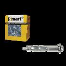 Hollewandplug SMART metaal M6x80, 25stuks