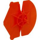 Isolatieclip universeel ROOD voor anker 3,6-4,5mm, 250stuks