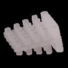 Keggen MEPAC KG1T transparant, 100stuks