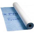 Dampdoorlatende POLYTEX 3x50m 130gr/m2 spinvlies PP blauw, 150m2