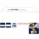 Reciprozaag Rotec RC740 metaal 200mm, 5stuks