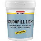 Vul- en afdichtmiddel SOUDAL soudafill light 900ml, 6stuks