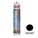 PU-Lijmkit SOUDAFLEX 40FC 310ml zwart, 12stuks
