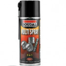 Multi spray SOUDAL 8-in-1 400ml, 6stuks