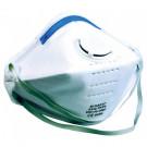 Stofmasker M-SAFE FFP3 uitademventiel en regelbare elastieken, 2stuks in blister